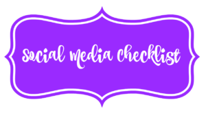 Social Media Checklist for Black Girls