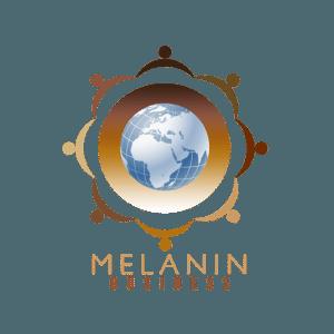 MELANIN BUSINESS OFFICAL LOGO TRANSPARENT