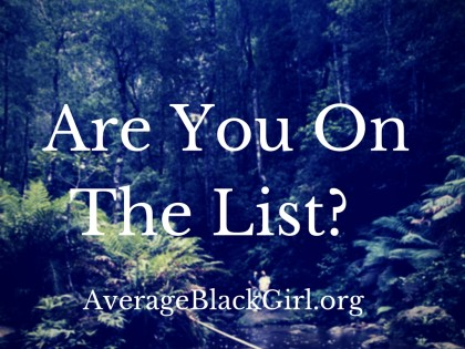 Are You On The List?