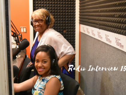 Danielle Mitchell's Radio Interview With 1570 AM WBGX Chicago
