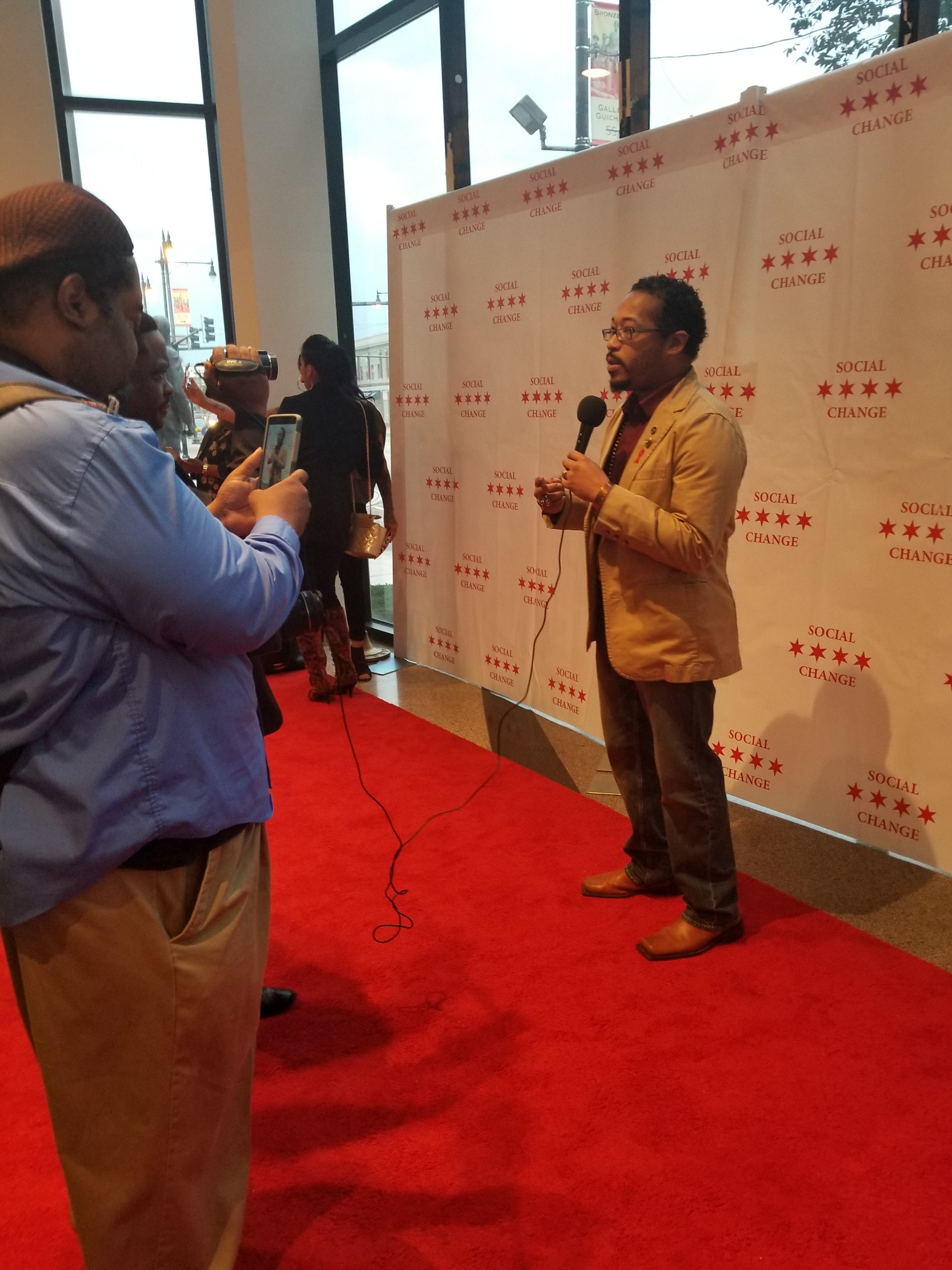 Lights, Camera, Action…Litty!  Recapping the 6th Annual Social Change Film Fest