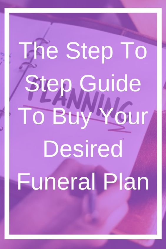 step by step for funeral planning